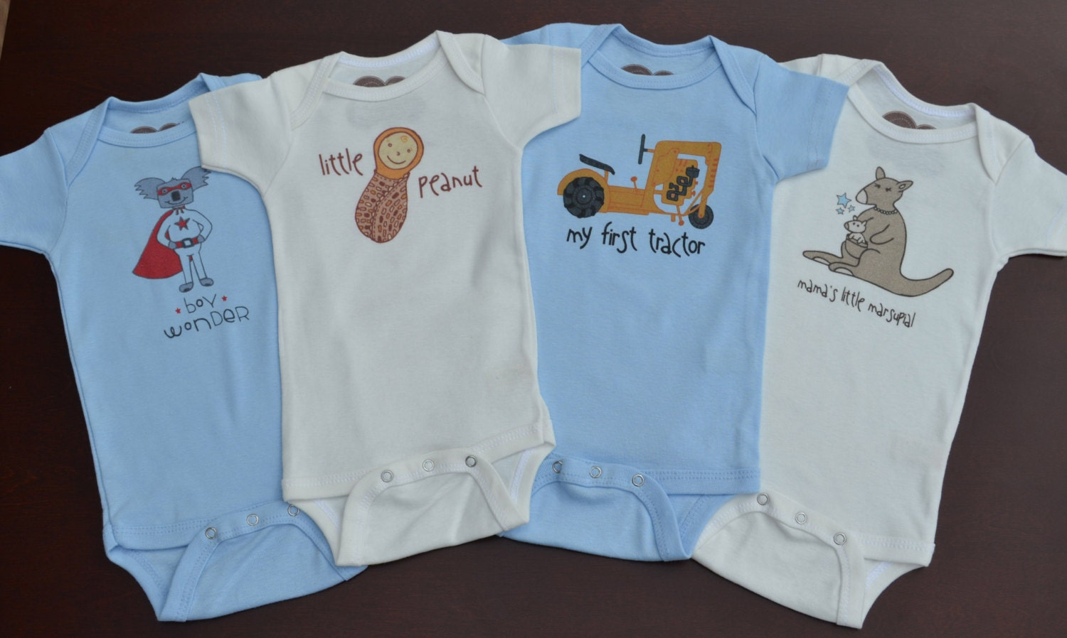 Wholesale Baby Clothes / Baby Boy Organic Bodysuits