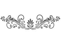 Wall border stencils pattern 011 re usable template for diy wall decor
