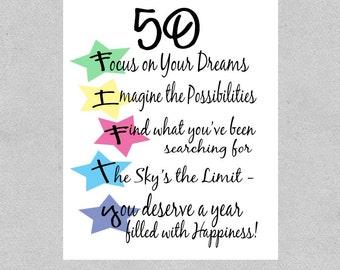 happy 50th bday quotes on quotestopics