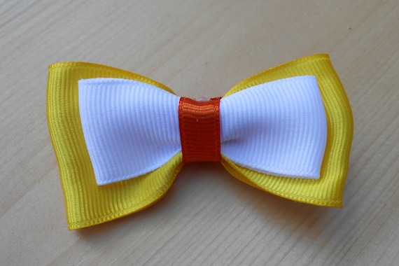Candy Corn Bow
