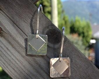 Modern Square Earrings