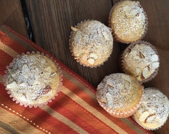 Paradise Muffins - 1/2 dz