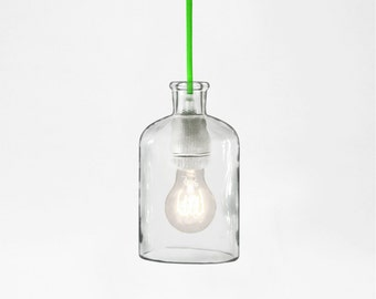 Neon Green Pendant Lamp