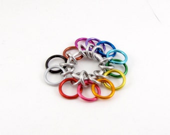 Rainbow Row Counter - 12 Rings