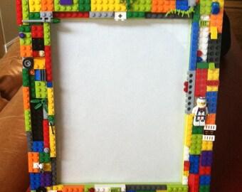 Custom Brick Lego Picture Frame