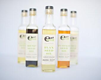 Organic Flax Seed Oil – 8 fl oz