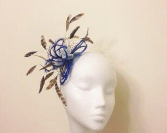 Couture Hat Fascinator, Henley Regatta, Ascot, Dubai Gold Cup, Wedding, Christening, Melbourne Cup, Derby Epsom, Kentucky Derby.