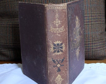Antique book called Our Deportment.  Published in the 1880's.
