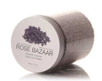 Organic Lavender Dried  Blossoms / Dried Lavender Flowers - Organic