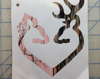 Browning heart Decal