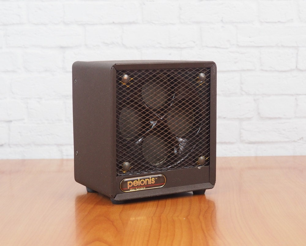 Vintage Portable Electric Fan And Space Heater Pelonis Disc