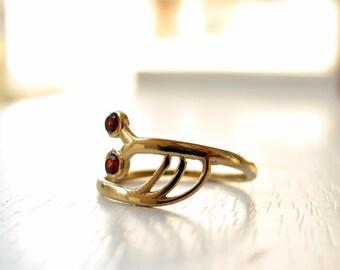 Animal ring - Snail ring