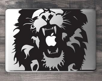 Lion Roar MacBook Decal