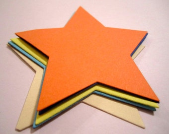 how to cut stars from paper