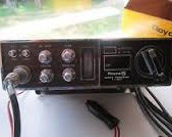 Vintage ROYCE 23 Channels CB Radio 1-653B