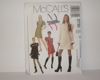McCall's Junior Dress Styles