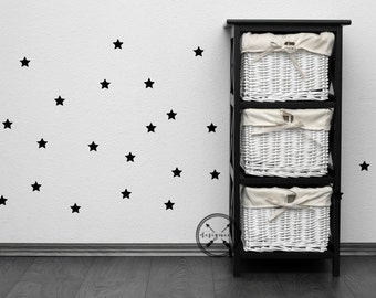 """2.5"""" Stars Wall Decals - Set of 25"""