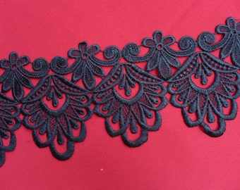 4''  lace trim for dress  Shawls, scarves, hats..sales by the yard