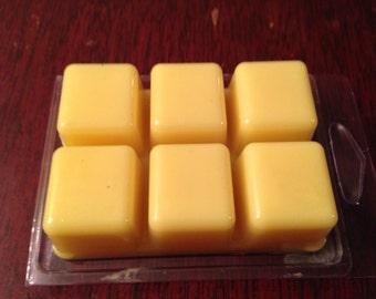 New Homemade Yellow Hawaiian Breeze Scented Wax/Tart/Candle Warmer Bar