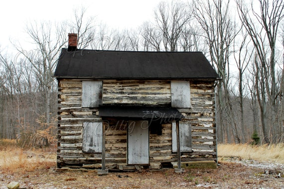 Classic Old Farm House Photograph - Digital Copy