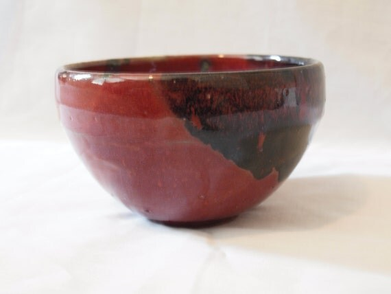 Red and Black Bowl