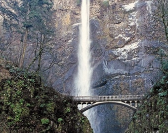 Multnomah Falls 8 x 10