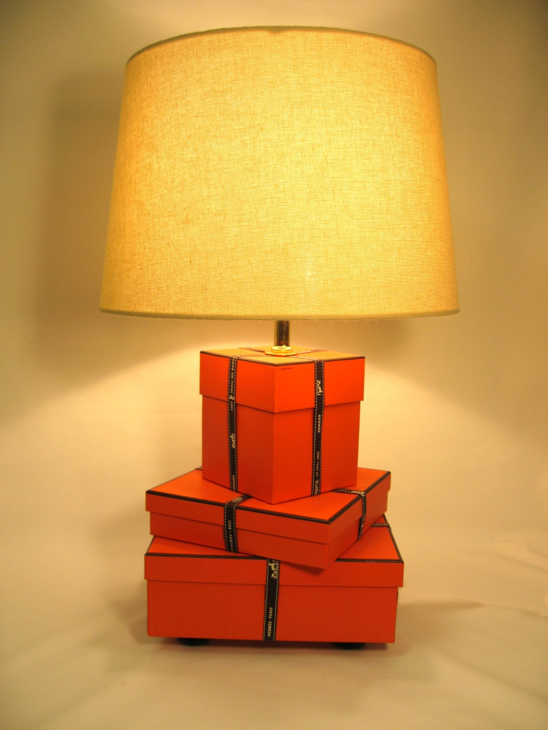 Hermes Hermes Lamp Orange Lamp Hermes Gift Boxes And