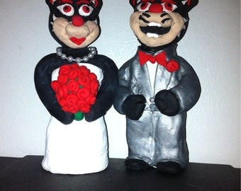 Mascot Cake Toppers