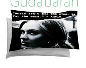 """Adele Quote on Pillow Case, Pillow Case Cover Bedding Gift Idea 30"""" x 20"""""""