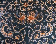 20%OFF SALE! Indonesian Hand-dyed Batik Fabric (Batik Berkah Lestari 2)