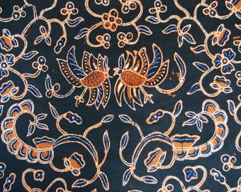 20%OFF SALE! Indonesian Hand-dyed Batik Fabric (Batik Berkah Lestari 2)