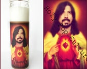 Saint Grohl Prayer Candle // Dave // Foo Fighters // Nirvana // Funny Gift Idea