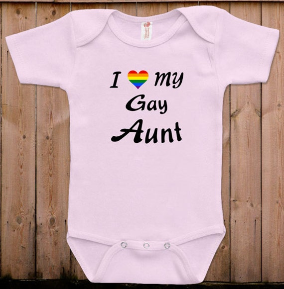 funny baby clothes newborn baby clothes i love my gay aunt