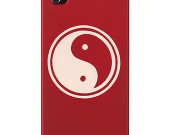 Yin Yang Decal- Wall Decal, Cell Decal, Laptop Decal