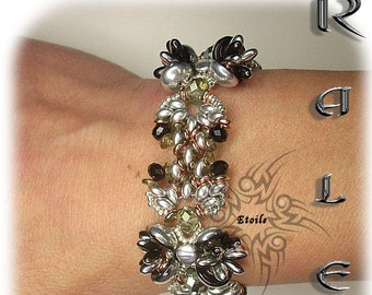 Pattern Kaleb bracelet( Italian/french)