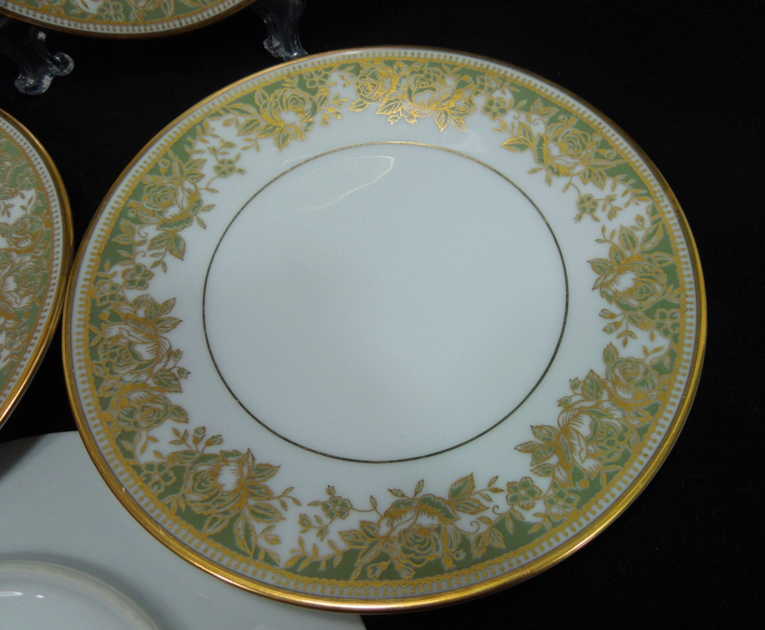 Noritake China Lucerne Pattern Set Of 4 Salad Plates