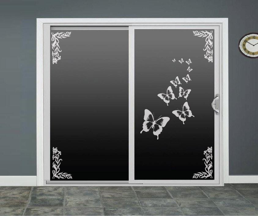 Butterfly Glass Door Decals Sliding Door Decal By Roomsbyangie