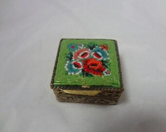 Vintage Micro Mosaic Box