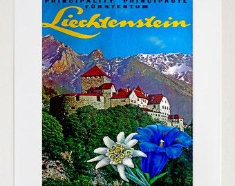 Liechtenstein Travel Print Poster Wall Art (ZT319)