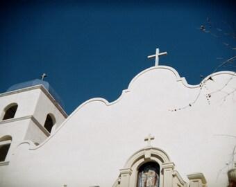 California Mission., Holga Photography, Digital Photo Download