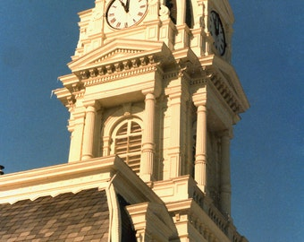 Madison County Ohio Courthouse Clock Tower