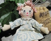 Primitive Rag Doll, Old Fashion Charm, SALE PRICE
