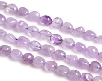 Natural Amethyst Beads Freeform Purple Ametrine Crystal Beads Gemstone Bead Wholesale High Quality