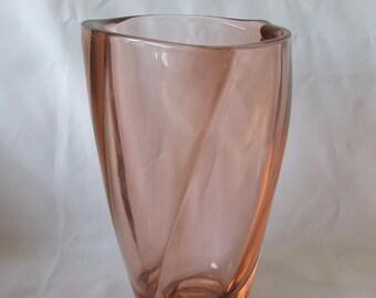 Sklo Union Art Glass Vase from Frantisek Peceny 1950s