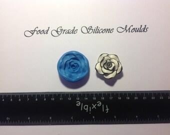 Large Rose Food Safe Safe Super Flexible Silicone Mould / Mold