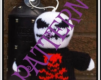 Baby Goth Knits DOLL PATTERN PDF download