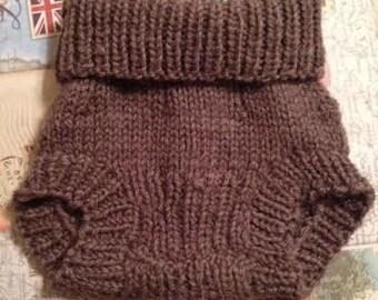 Wool Soaker Diaper Cover