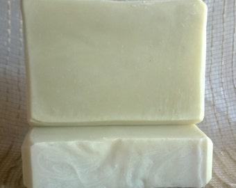 Shea Butter Olive Oil Soap - Vegan Soap- Simple Soul Soap