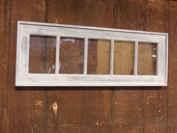 Distressed Window Picture Frame Window Pane Shabby By