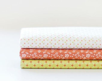 Thank You- Quarter Fabric Pack 3 Fabric 1set - Sets for 3 each 45 X 55 cm